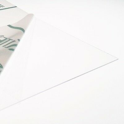 0.5mm Clear Thin PETG Sheet 6 SIZES TO CHOOSE Model Making Dolls House Windows