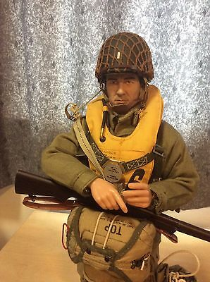 1/6 Scale Dragon Action Figures US Airborne Paratrooper With Parachute