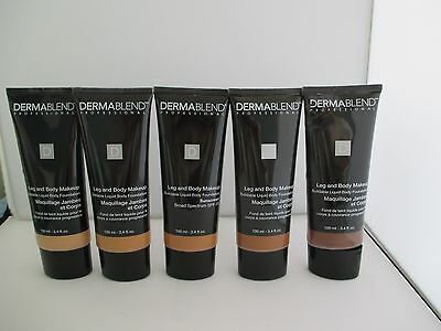 Dermablend Leg and Body Makeup Liquid Body Foundation - Assorted Shades - 100ml