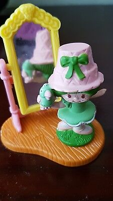 strawberry shortcake mini pvc lime with parfait in mirror deluxe figure