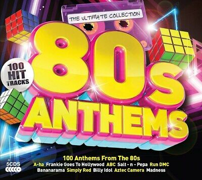 80s Anthems - Various Artists (Box Set) [CD]