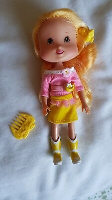 strawberry shortcake vintage playmates doll country fun banana