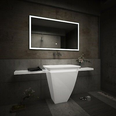 LED Illuminated Bathroom Mirror L01 | Bluetooth Speaker | Switch |