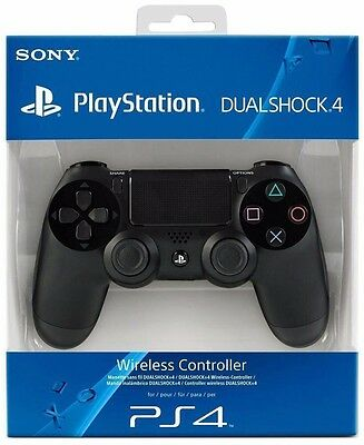 OFFICIAL SONY PS4 DUALSHOCK 4 WIRELESS CONTROLLER - Brand New, Sealed SALE!