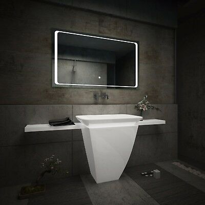 LED Illuminated Bathroom Mirror L61 | Bluetooth Speaker | Switch |