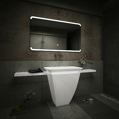 LED Illuminated Bathroom Mirror L73 | Bluetooth Speaker | Switch |