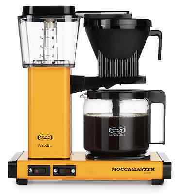 Moccamaster KBG 741 AO Yellow Pepper 1.25 L Coffee Machine Maker - New & Sealed