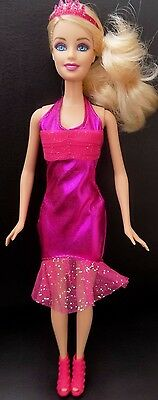 Barbie Party dress,tiara & shoes ~ clothes ~ outfit ~ Doll not Included