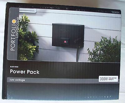Portfolio 300-Watt 12-Volt Multi-Tap Low Voltage Landscape Lighting Transformer