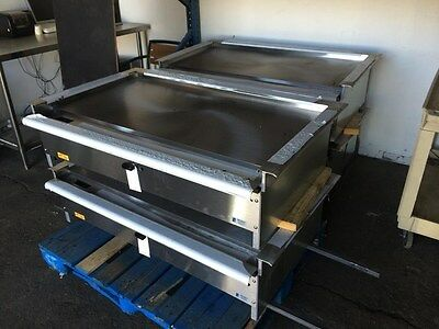 "48"" Teppanyaki Grill, Hibachi Grill, Nat Or Lp Gas, Equipped With S/s Trim"