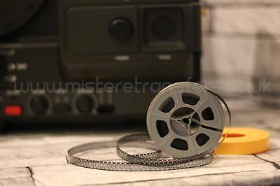 "Super8 Film to DVD TRANSFER SERVICE 50' 3"" Reel  home movies vintage film"