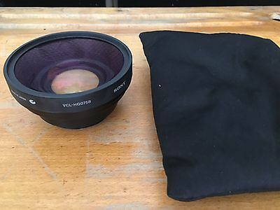 Objectif Sony VCL-HG0758 convertisseur grand angle / Wide Conversion Lens