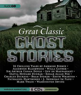 Great Classic Ghost Stories - 6 Cd Audio Book - Unabridged - New/sealed