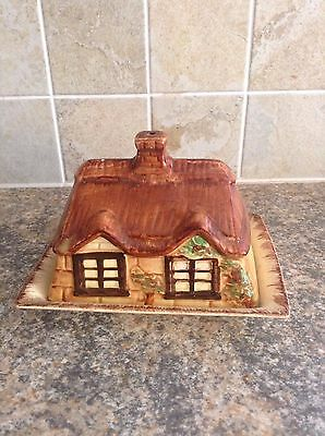 Cottage ware Butter Dish