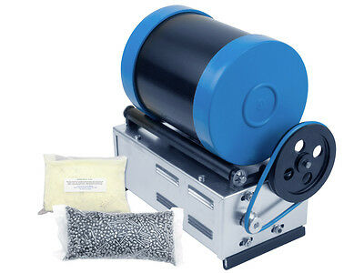 Beach Lapidary Metal Barreling Machine Starter Kit (3lb Barrel) - DETECNICKS LTD