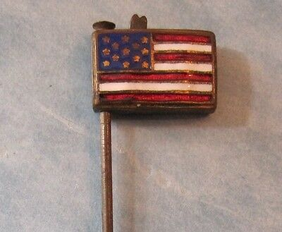 WWI Era US Flag Lapel Pin