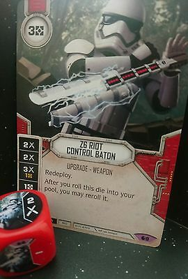 Star Wars: Destiny Spirit of Rebellion - Legendary Z6 Riot Control Baton