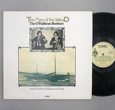 "The O'Halloran Brothers - The Men of The Island - EX/EX - UK 12"" Vinyl -12TS 305"