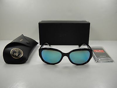 550cbd700a Ray-Ban Polarized Chromance Sunglasses Rb4282Ch 601 a1 Black blue Mirror  55Mm