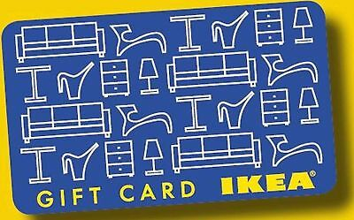 2 X IKEA Gift Cards loaded with  $100.00 Canadian each (200.00 CAD Total)