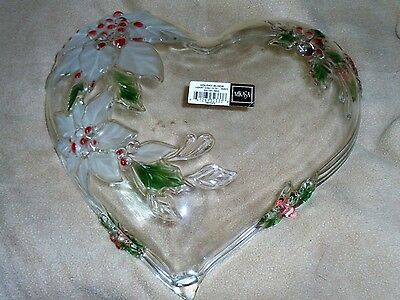 milkasa heart candy dish holiday bloom