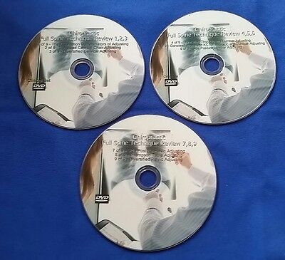 Chiropractic Full Spine & Extremity DVDs (6 DVDs 2CDs) SALE
