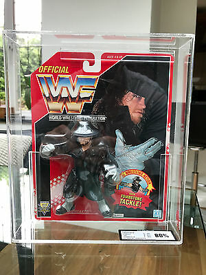 Wwf Hasbro Red Card Series 8 1994 The Undertaker With Tombstone Tackle! Ukg Wwe