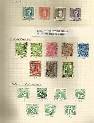 Large Collection Of Austria Stamps