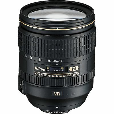 Nikon 24-120mm f/4G ED VR AF-S NIKKOR Lens  For Nikon DSLR  *BRAND NEW*
