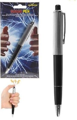 Battery Operated Shock Pen Practical Jokes Gags Novelty Prank Toy Trick Gift
