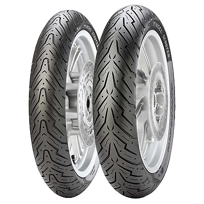 Coppia gomme pneumatici Pirelli Angel Scooter 120/70-15 56S 140/70-14 68S