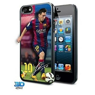 Lionel Messi barcelona 3D Case Cover fits iPhone 5 and 5s