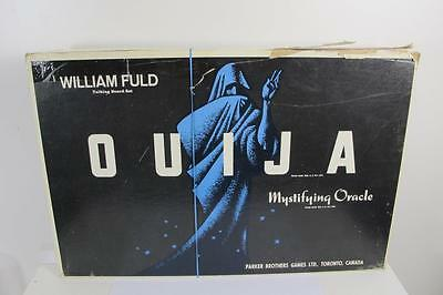 1960`s PARKER BROTHERS GAMES WILLIAM FULD OUIJA BOARD MYSTIFYING ORACLE