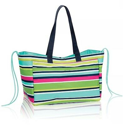 NWT-Thirty One Soft Utility Tote in Preppy Pop -In original Packaging!