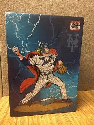 2017 Thor Noah Syndergaard bobblehead New York Mets Bobble Head SGA NY Marvel