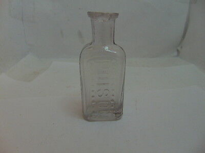Rare Canadian Poison Bottle 11 in each Row of Dots