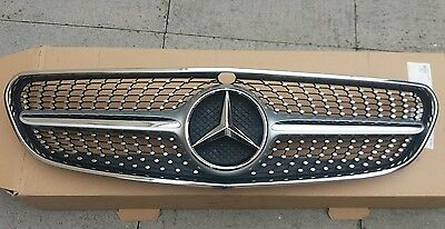 Genuine Mercedes Benz S Class Front Bumper Grill Diamond A2178800783 W217 Amg