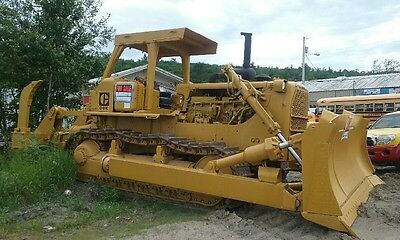 Us Military Surplus; New Old Stock Caterpillar D8K Bulldozer With Ripper