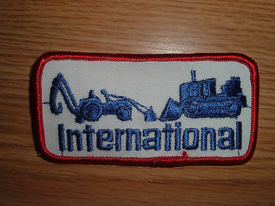 Vintage  International Harvester Crawler Dozer Tractor Equipment Patch