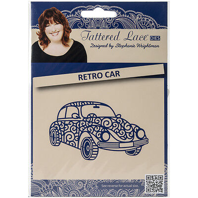 Tattered Lace Metal Die Retro Car 100365