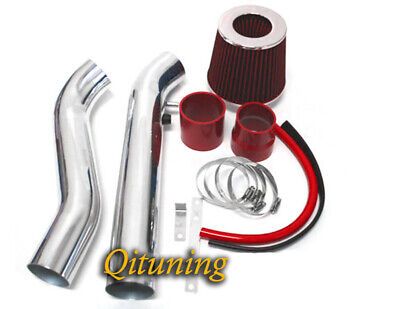RED DRY FILTER FOR 96-98 Civic HX EX 1.6L L4 RAM AIR INDUCTION INTAKE KIT