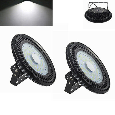 2X 250W LED High Bay Lights Warehouse Commercial Industries Lamp Factory Supply