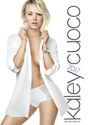 Kaley Cuoco Official  Calendar 2017