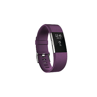Fitbit Charge 2 Fitness Tracker - Small - Plum