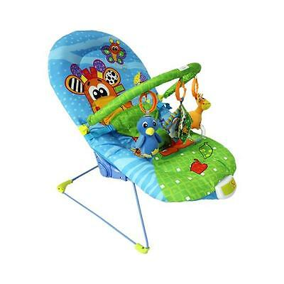 Baby Giraffe Bouncer Reclining Soothing Music Vibration Toys 3 Colors 3034