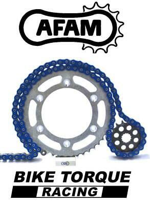 Yamaha MT09 / Tracer 14-16 AFAM Upgrade Blue Chain And Sprocket Kit