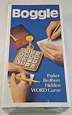 Vintage 1976 Boggle Word Game No.104 Parker Brothers New In Box Shrink Wrap