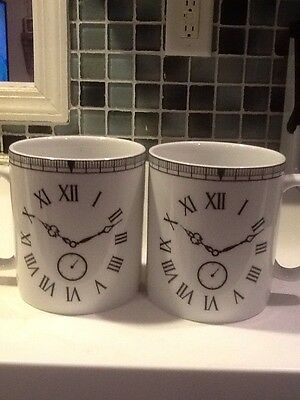 222Fifth Time Will Tell 2 New Jumbo Soup/ Cereal Mugs