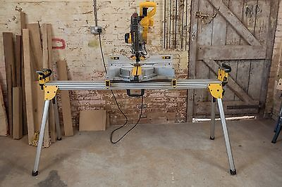 DeWalt DWS780 XPS Compound Chop Saw with DE7023 Stand 240V