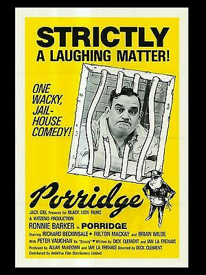 "Porridge 16"" x 12"" Reproduction Movie Poster Photograph 2"